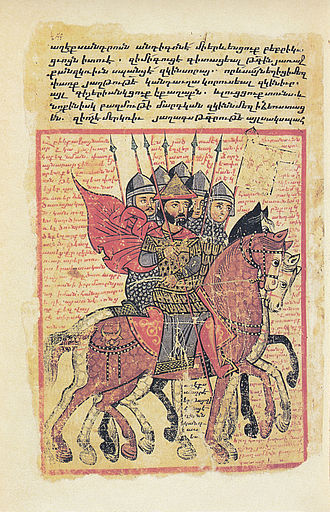 Alexander romance - Armenian illuminated manuscript of 14th century of 5th century translation