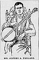 Alfred A Farland, banjoist, lithograph.jpg