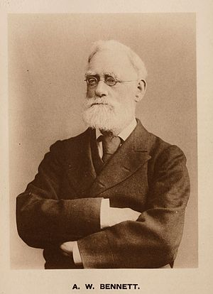Royal Microscopical Society - Image: Alfred William Bennett, British botanist and publisher