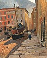 Alfred Zoff - A harbour on the Riviera.jpg