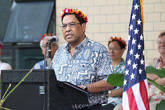 Vice President of the Federated States of Micronesia - Image: Alik Alik