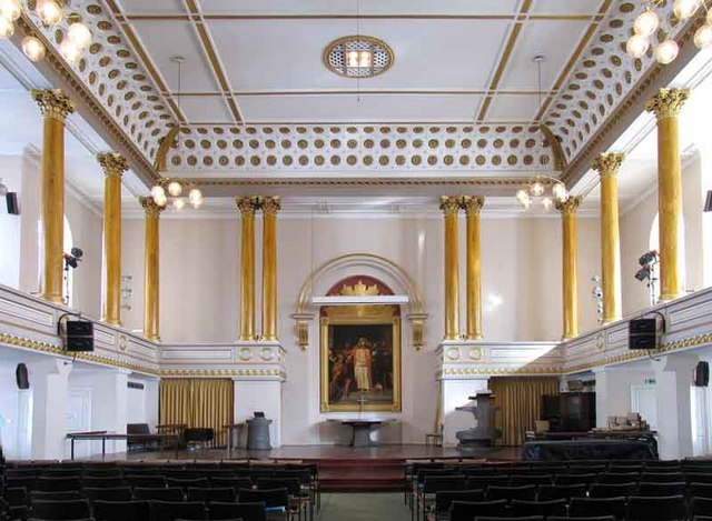 All Souls, Langham Place, London W1 - East end - geograph.org.uk - 681551