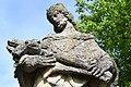 Alsóbogát, Nepomuki Szent János-szobor 2021 16.jpg