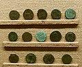 Altar of Lugdunum on Roman coins - Musée gallo-romain de Fourvière - 14 coins.jpg