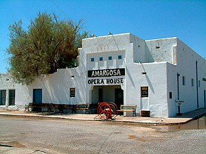 National Register of Historic Places listings in Inyo County, California - Image: Amargosa Opera House