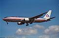 American Airlines Boeing 767-323ER; N372AA@LHR;04.04.1997 (4904940594).jpg