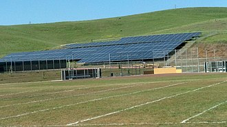 American Canyon High School - Solar panels installed in 2011