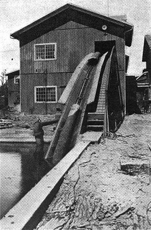 Sawmill - An American sawmill, circa 1920
