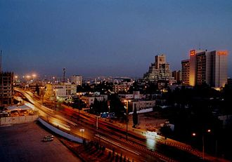 Amman Governorate - Abdali District forms the heart of Amman