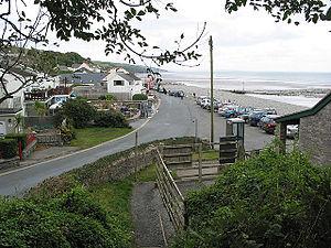 Amroth, Pembrokeshire - Image: Amroth village