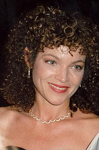 Irving at the Governor's Ball party, after the 1989 Academy Awards