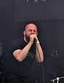 "Anaal Nathrakh, Dave ""V.I.T.R.I.O.L."" Hunt at Party.San Metal Open Air 2013.jpg"
