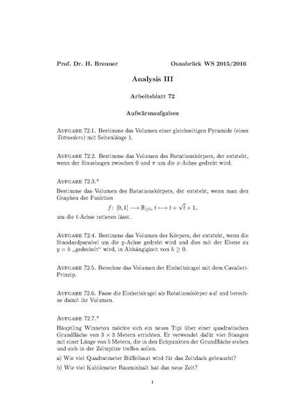 Gemütlich Volumen Von Prismen Arbeitsblatt Pdf Zeitgenössisch ...