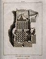 Ancient Bath, Lipari, Rome; ruinous foundation. Engraving by Wellcome V0014416.jpg