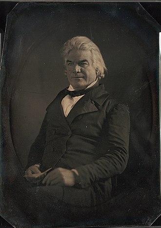 Andrew Butler - Daguerreotype of Senator Andrew P. Butler, 1849