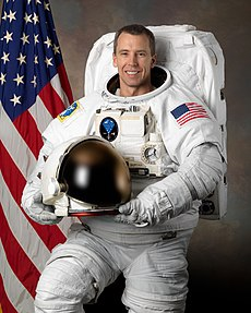 Andrew J. Feustel, seen here in February 2008, was also a mission specialist on the spaceflight. Image: NASA.