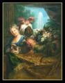 Angola trompette de Louis XIV par Coypel.png