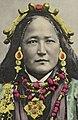 "Ani Chokyi hand colored postcard titled ""Tibetan Lady"" (cropped).jpg"