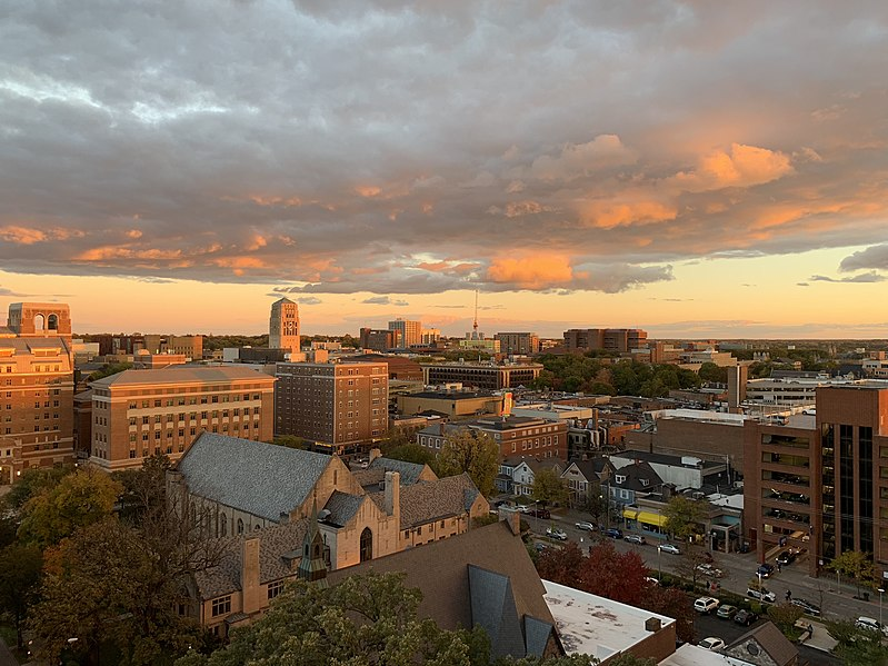 File:Ann Arbor sunset 2018.jpg