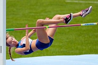 Anna Iljuštšenko Estonian high jumper