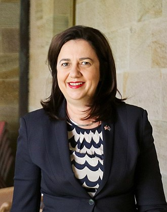 2017 Queensland state election - Image: Annastacia Palaszczuk 2016