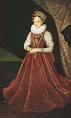 Portrait of Krystyna Lubomirska (detail).