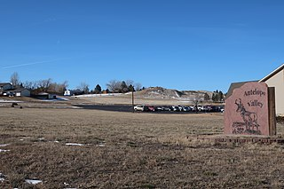Antelope Valley-Crestview, Wyoming Census-designated place in Wyoming, United States