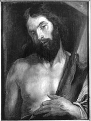 Christus mit dem Kreuz (Werkstattkopie)