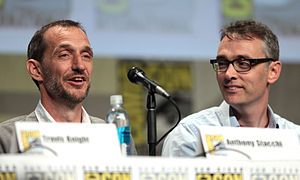 The Boxtrolls - Directors Anthony Stacchi and Graham Annable promoting the film at the 2014 San Diego Comic-Con International.
