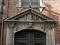 Antic convent de Sant Salvador, Émile Zola, detall.jpg