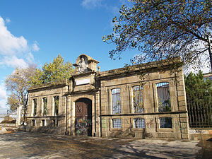 Navantia - One of the 18th century doors of the Shipyards in Ferrol.