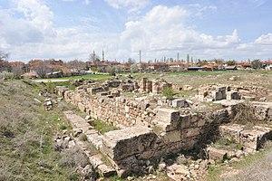 Uşak - Antikle Kirche von Sebaste, bei Selcikler (Usak)