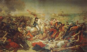 Joachim Murat - General Murat at the battle of Abukir, where 11,000 Ottoman soldiers drowned in the Nile