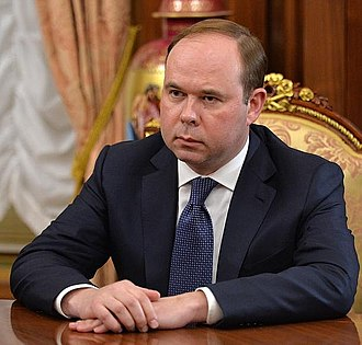 Chief of Staff of the Presidential Executive Office (Russia) - Image: Anton Vaino