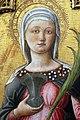 Antonio, bartolomeo vivarini e bottega, ss. caterina d'alessandria e lucia, 1462, 05.jpg