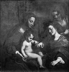 Antonio da Correggio: The Betrothal of Saint Catharine