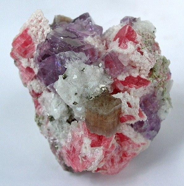 Apatite-Rhodochrosite-Fluorite-169799