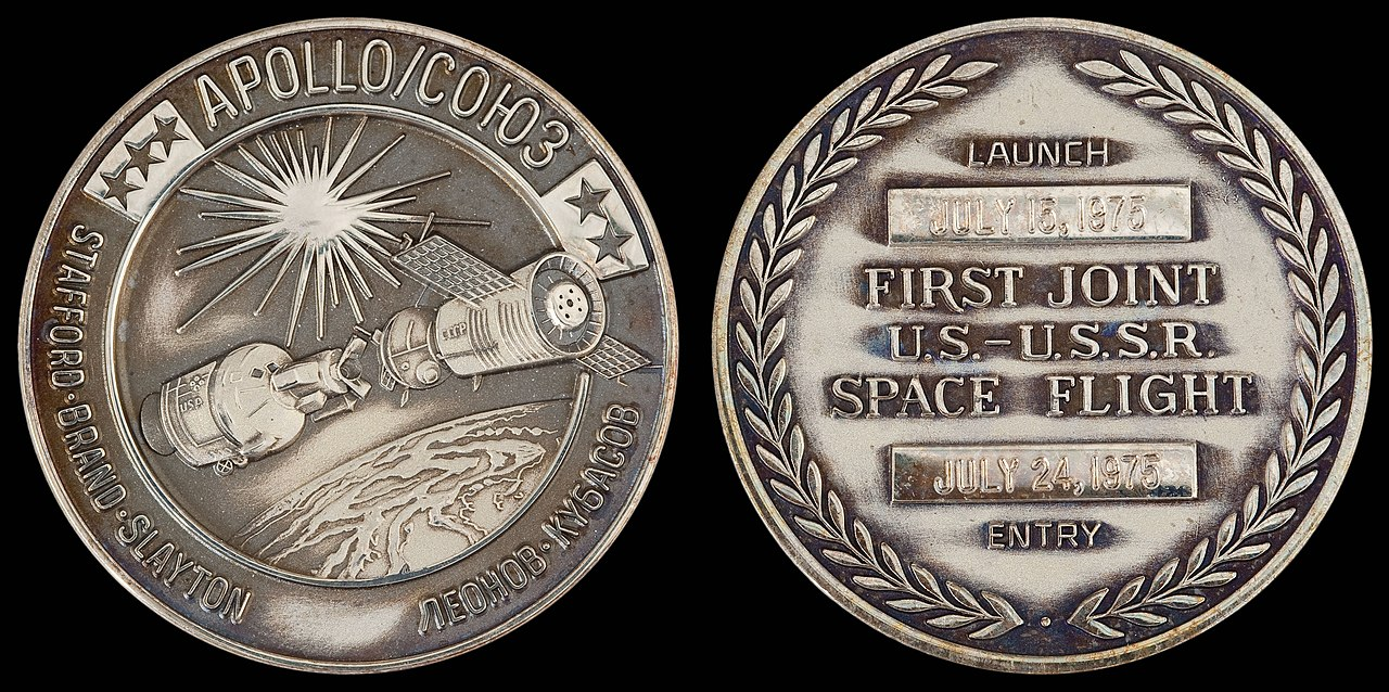 Silver Stock Chart History: Apollo-Soyuz Test Project Flown Silver Robbins Medallion.jpg ,Chart