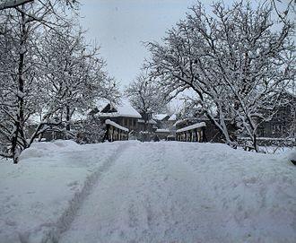 Aragam - The view of Aragam in Winter