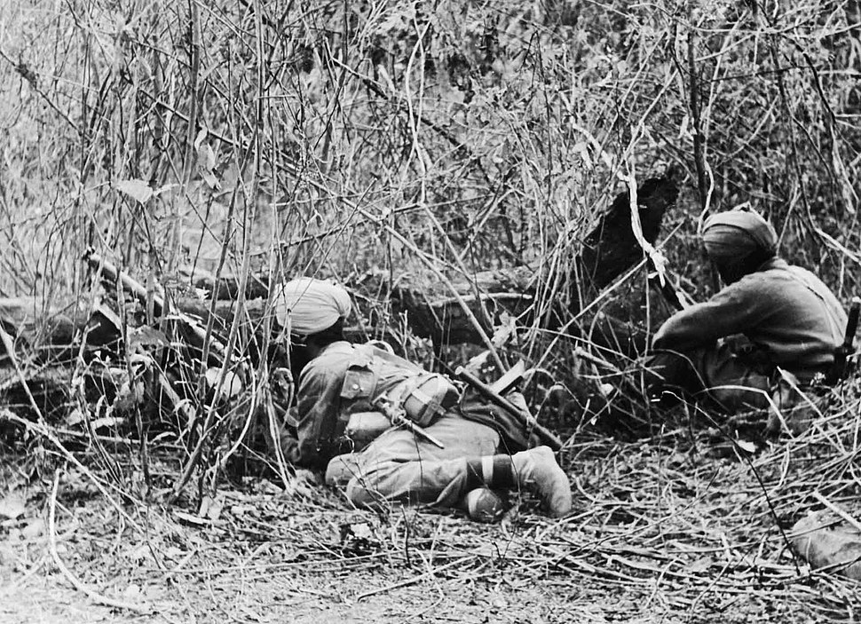 Arakan Campaign Indian Division at observation