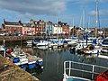 Arbroath Harbour Nights Guest House (3rd building from right).jpg
