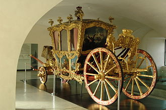 Carriage in the Museum of Art Arcidecezni museum Olomouc.JPG