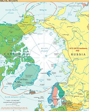 Arctic region CIA