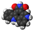 Arcyriacyanin A molecule spacefill.png
