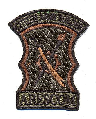 Philippine Army Reserve Command - ARESCOM uniform patch.