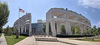 Ariel Rios Federal Building - Image: Ariel Rios Federal Building pano