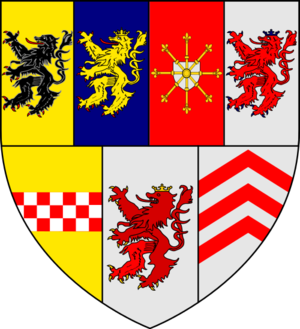 United Duchies of Jülich-Cleves-Berg - Image: Armoiries Guillaume de Clèves