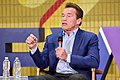 Arnold Schwarzenegger speaks at New Way California Press event in Los Angeles (40917824652).jpg