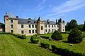 Arrière du Château - Vue du Jardin à la Française.JPG