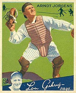 Art Jorgens baseball player